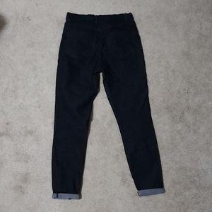 BOGO Free Forever 21 skinny cropped dark wash jeggings sz 27